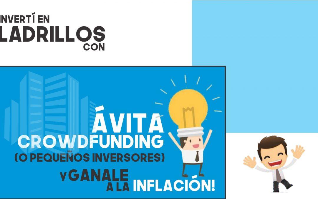 CROWDFUNDING INMOBILIARIO EN AVITA PARA MICROINVERSIONES. UN CASO REAL QUE PUEDE SER EL TUYO